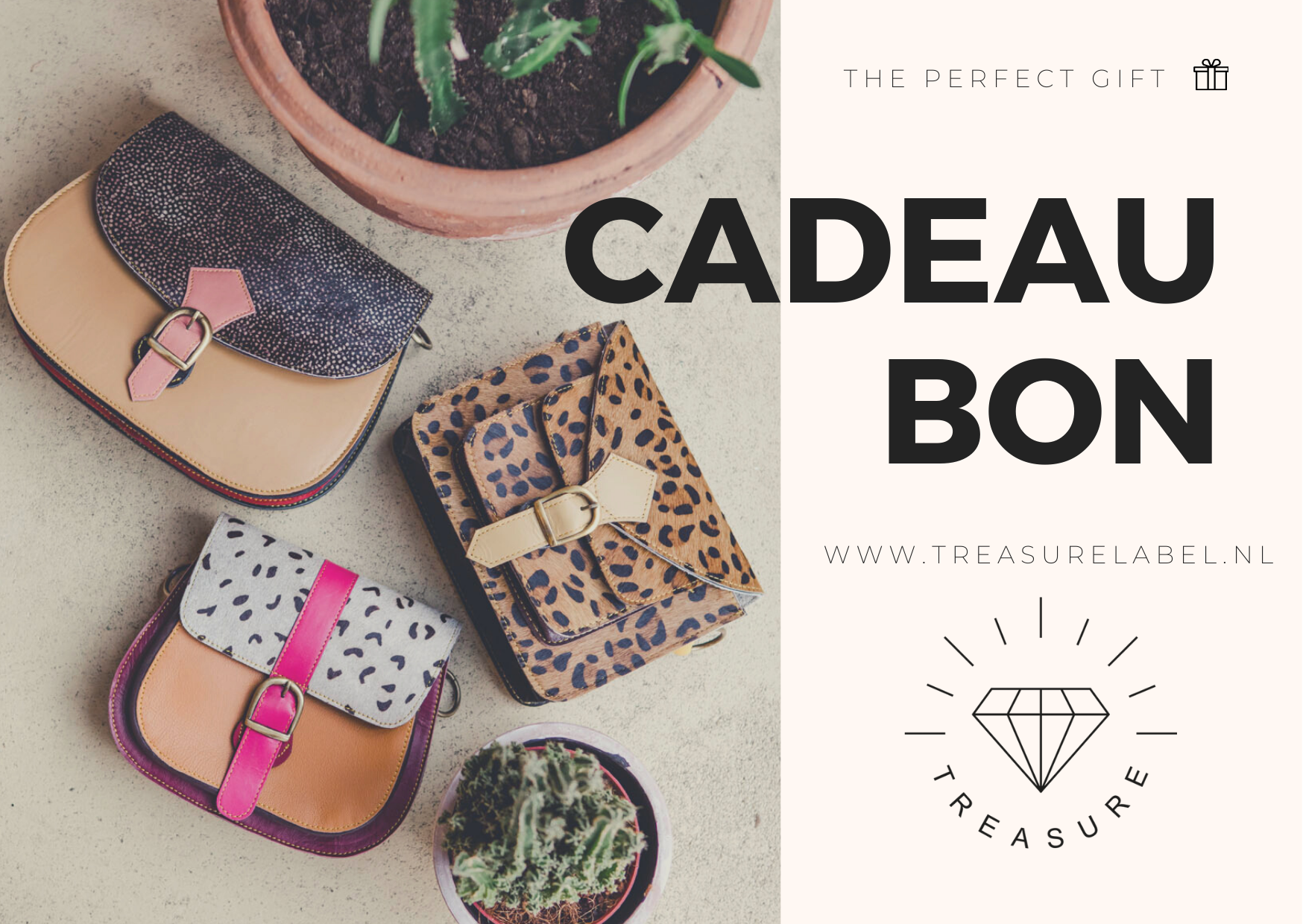 Digitale Cadeaubon | Treasure Label