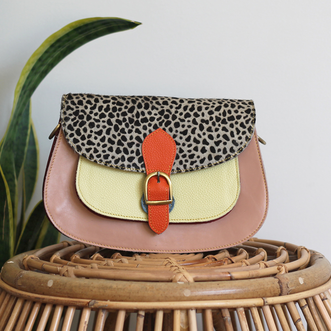 Multicolor Ameya Bag