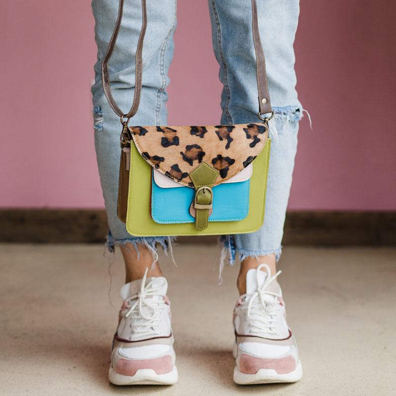 Multicolor Mira Bags